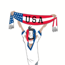 Soccer Scarves (G-U) Facebook sticker #31