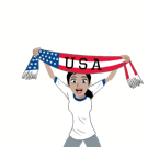 Soccer Scarves (G-U) Facebook sticker #32