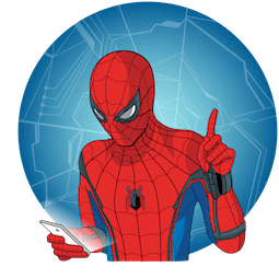 Spider-Man: De regreso a casa Facebook sticker #4