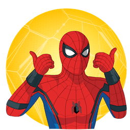 Spider-Man: Homecoming Facebook sticker #15