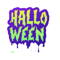 Facebook Spooky Season stickers