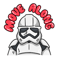 Star Wars: The Rise of Skywalker Facebook sticker #1