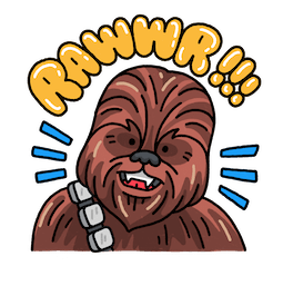 Star Wars: The Rise of Skywalker Facebook sticker #3