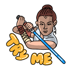 Star Wars: El ascenso de Skywalker Facebook sticker #6