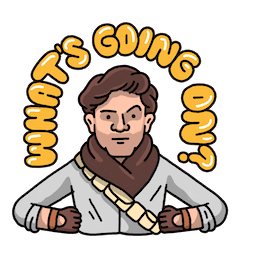 Star Wars: El ascenso de Skywalker Facebook sticker #13