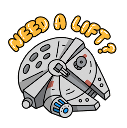 Star Wars: El ascenso de Skywalker Facebook sticker #18