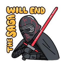 Star Wars: El ascenso de Skywalker Facebook sticker #19