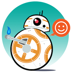 Facebook Star Wars: The Last Jedi stickers