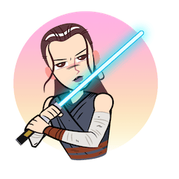Star Wars: The Last Jedi Facebook sticker #2