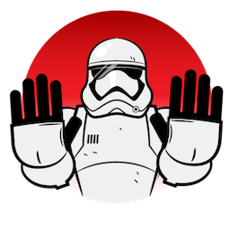 Star Wars: The Last Jedi Facebook sticker #3