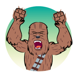 Facebook sticker Star Wars: The Last Jedi 7