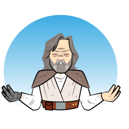 Star Wars: The Last Jedi Facebook sticker #13