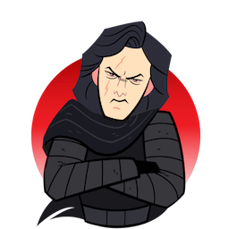 Star Wars: The Last Jedi Facebook sticker #19