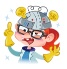 Stella Supernova Facebook sticker #22
