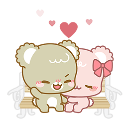 Sugar Cubs in Love Facebook sticker #3