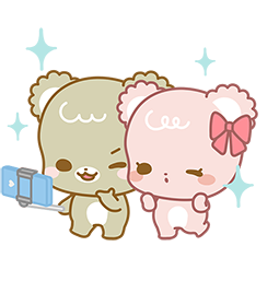 Sugar Cubs in Love Facebook sticker #5