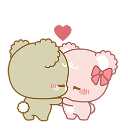 Sugar Cubs in Love Facebook sticker #10