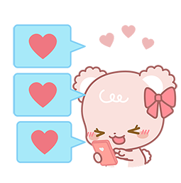 Sugar Cubs in Love Facebook sticker #12