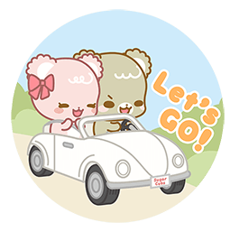 Sugar Cubs in Love Facebook sticker #15