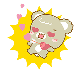 Sugar Cubs in Love Facebook sticker #16