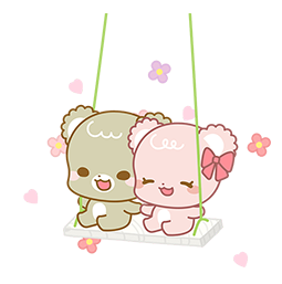 Sugar Cubs in Love Facebook sticker #20