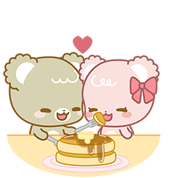 Sugar Cubs in Love Facebook sticker #21