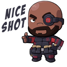 Suicide Squad Facebook sticker #2