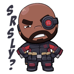 Suicide Squad Facebook sticker #13
