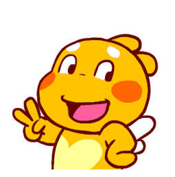 Facebook / Messenger Sweet QooBee sticker #9