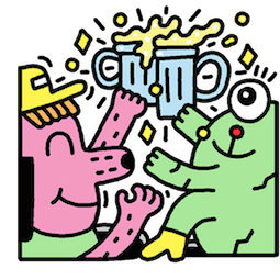 Take It Easy Facebook sticker #4