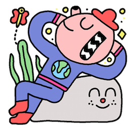 Take It Easy Facebook sticker #12