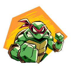 Facebook Teenage Mutant Ninja Turtles stickers