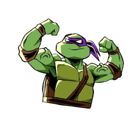 Facebook sticker Teenage Mutant Ninja Turtles 16