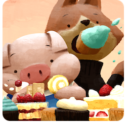 The Dam Keeper Facebook sticker #2