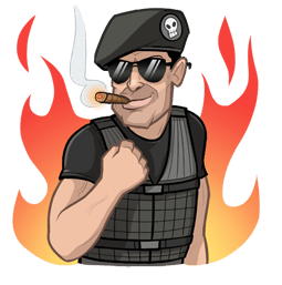 The Expendables 3 Facebook sticker #6