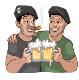 The Expendables 3 Facebook sticker #8