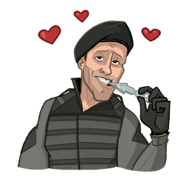 The Expendables 3 Facebook sticker #12
