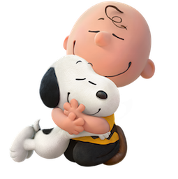 Snoopy et les Peanuts Facebook sticker #1