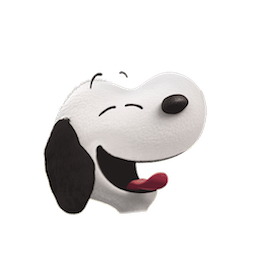Snoopy et les Peanuts Facebook sticker #10