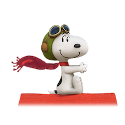 Snoopy et les Peanuts Facebook sticker #12