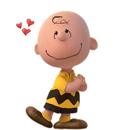 Snoopy et les Peanuts Facebook sticker #17