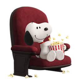 Snoopy et les Peanuts Facebook sticker #18