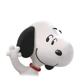 Snoopy et les Peanuts Facebook sticker #19