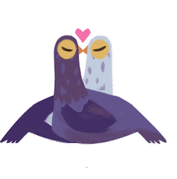 Trash Doves Facebook sticker #9
