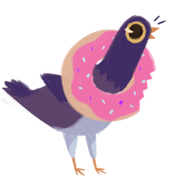 Trash Doves Facebook sticker #17