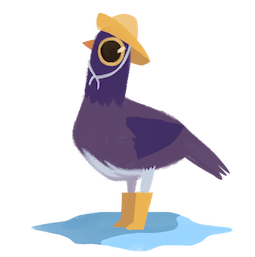 Palomas urbanas Facebook sticker #19