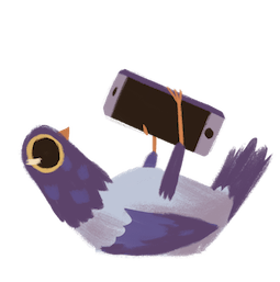 Palomas urbanas Facebook sticker #20