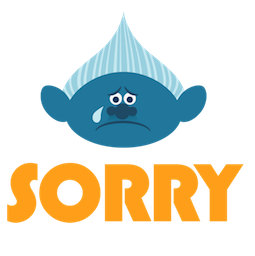 Trolls Facebook sticker #6