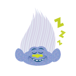 Trolls Facebook sticker #7