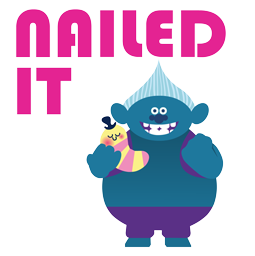 Trolls Facebook sticker #10